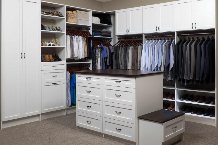 Walk-in Closet Systems